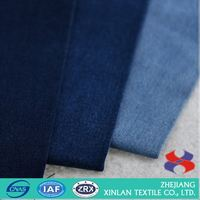 Factory direct sale top sale high elastic spandex denim fabric 2016