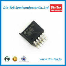 Intergrated circuit microcontroller LM2596S-ADJ power IC
