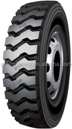 Transverse Block Tires 11.00R20 and 12.00R20 for Construction,Mines and Mud Road Tires