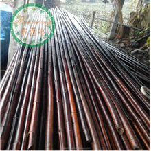 bamboo poles wholesale cheap/black bamboo poles with high quality