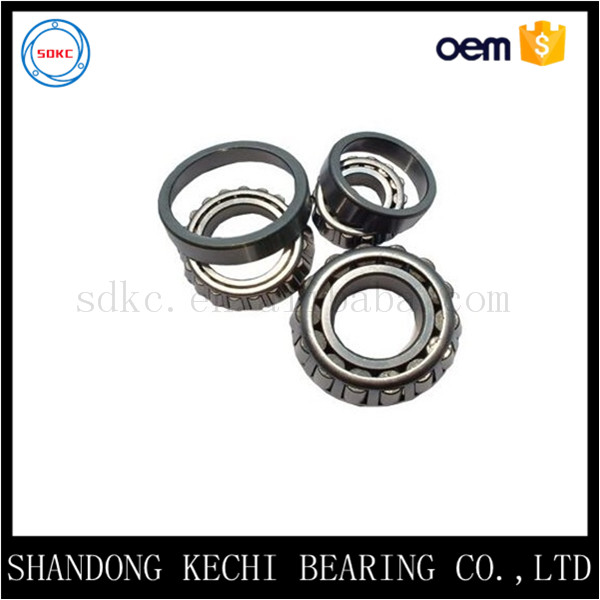 Machinery parts bearing supply high precision single row inch tapered roller bearing 07100 / 07196