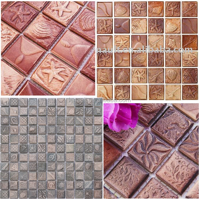 most popular natural ceramic mosaic for kitchen and bathroom