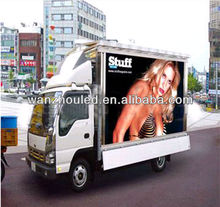 true color!!!!!!Mobile Truck Advertising Led Screen from China
