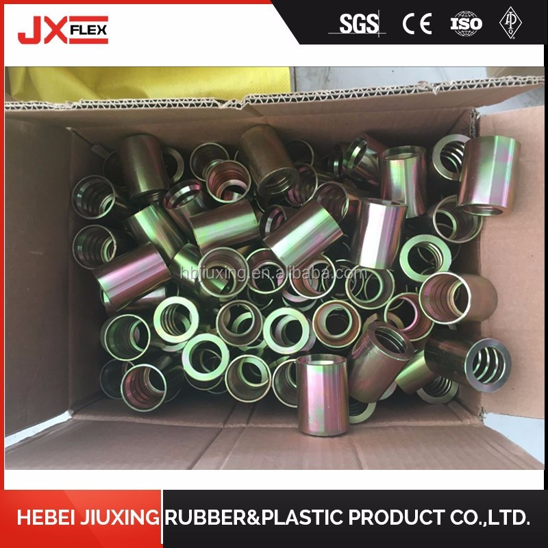 china manufacturer hydraulic fitting ferrul connector quick couplings