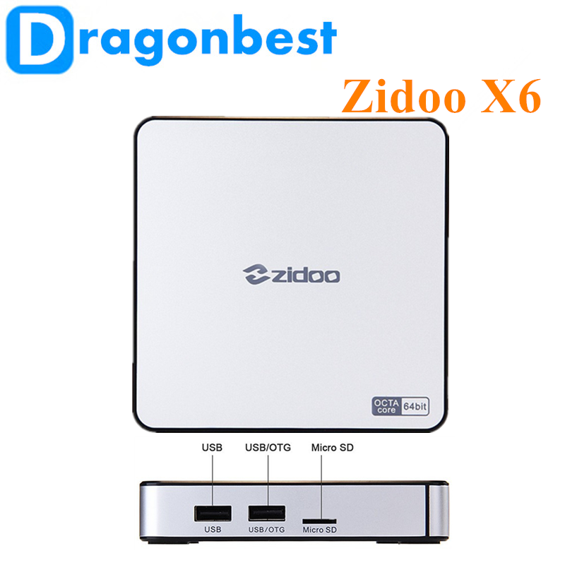 2017 New product Zidoo X6 Pro R3368 2G 16G android stick for home use KODI TV Box