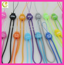 2012 hot selling soft pvc/silicone lanyard with mobile phone holder for christmas gifts