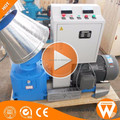 Hot sale Strongwin Simple Operation small flat die wood pellet making machine price