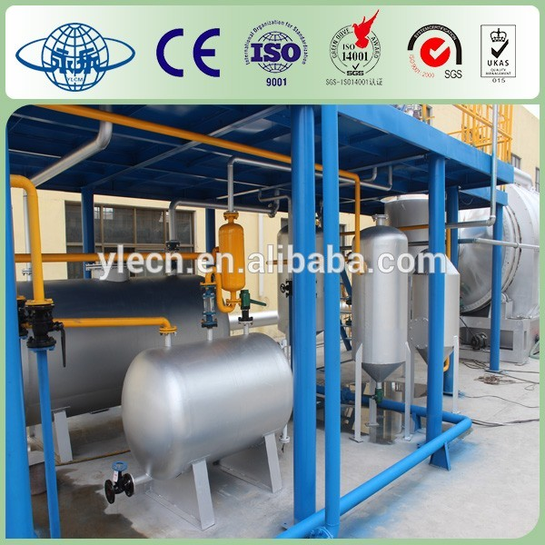 used tire oil pyrolysis machine