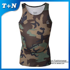 custom sublimation yoga tank top fitness