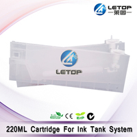 Eco ink high quality compatible Roland Inkjet printer ink cartridge 220ML roland ink cartridge box