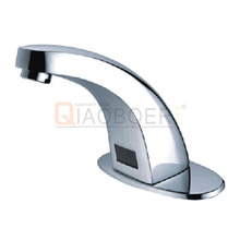 Online shop china brass chrome infrared automatic faucet sensor