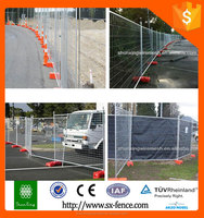 Safety building fencing/tempered fence for building with factory price