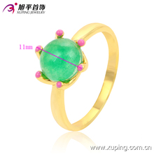 13593 Fashion hot sale 24K Gold Plated Ring , Engagement zircon ring