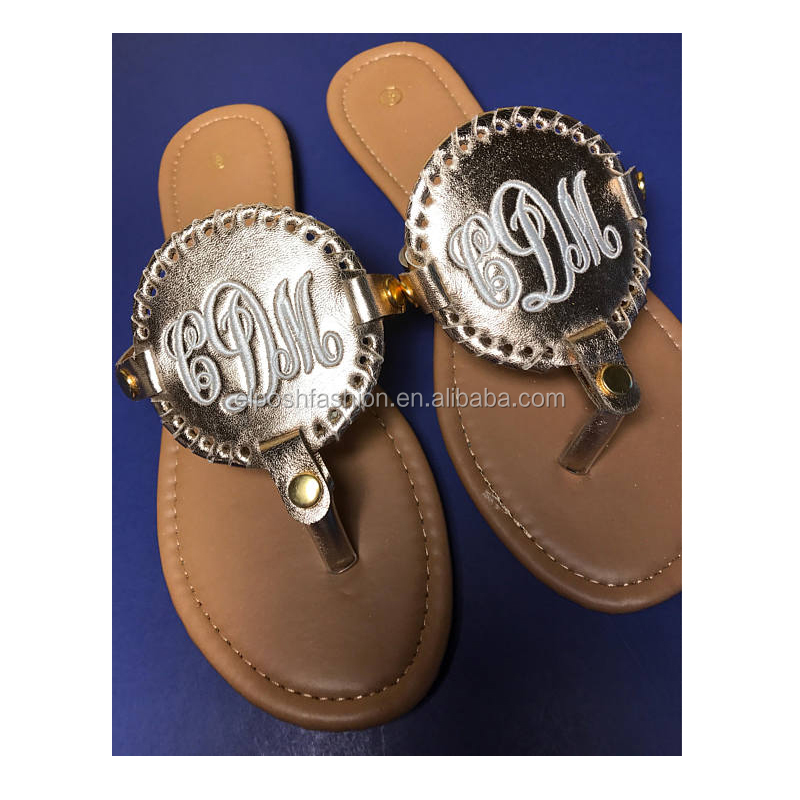 Wholesale Personalized Monogrammed Fancy Sandals For Girls
