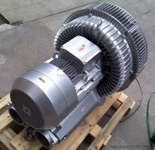 2 Stage Three Phase 380V 11KW Side Channel Blower For Industrial