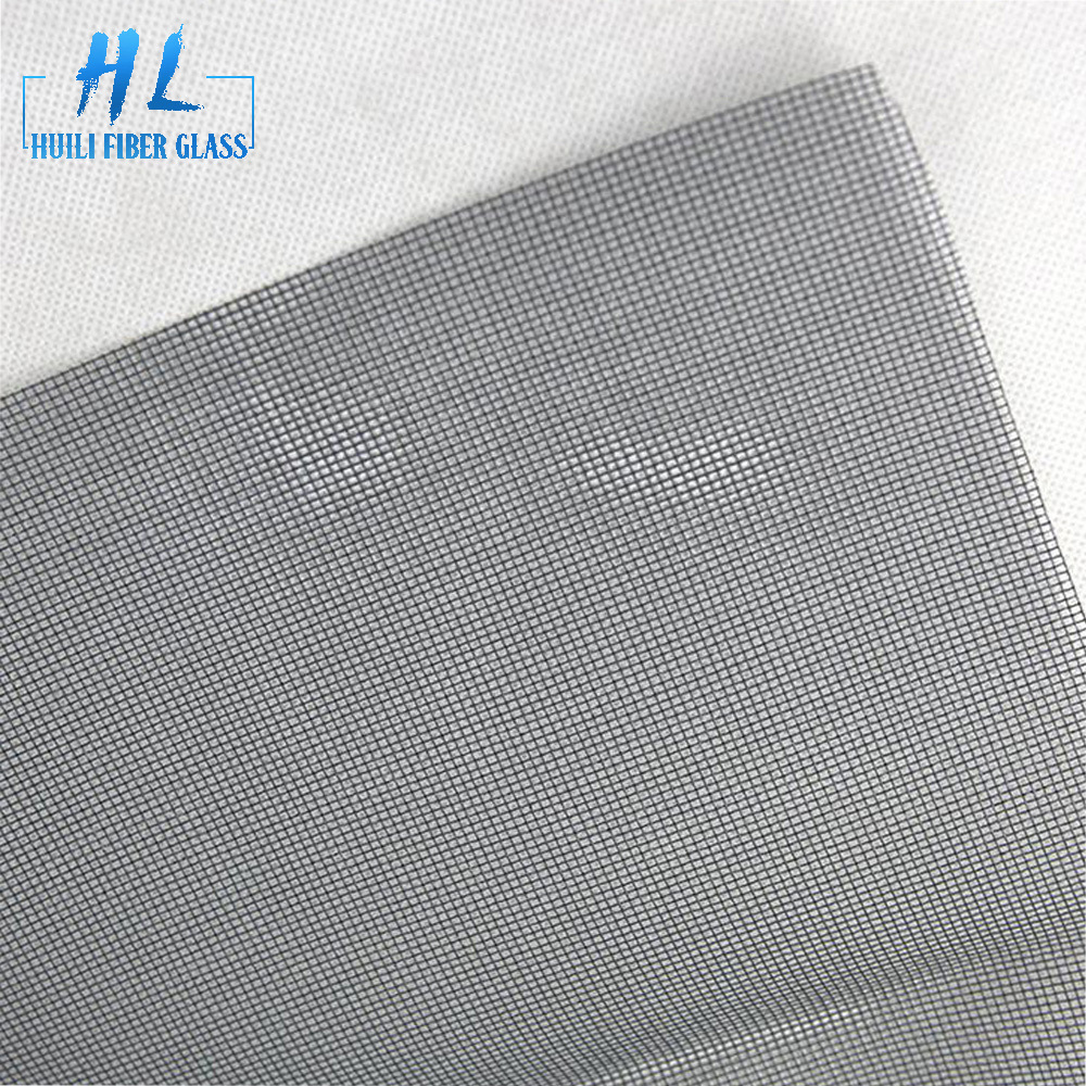 clear view screen pvc coated fiberglass window screen for insect proof net