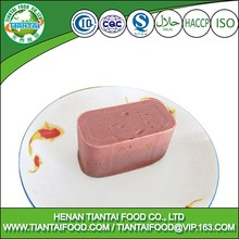 factory price halal beef luncheon meat
