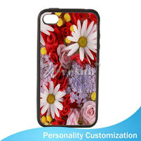 Vesub Blank Phone Case for Iphone 4 Sublimation cross stitch phone case