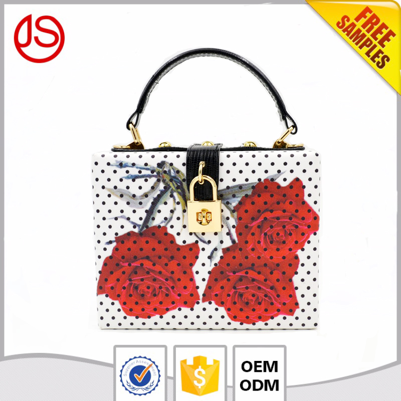 Jishun New Arrival Designs PU Women Clutch Evening Bags Handbags Leather Bags for Lady