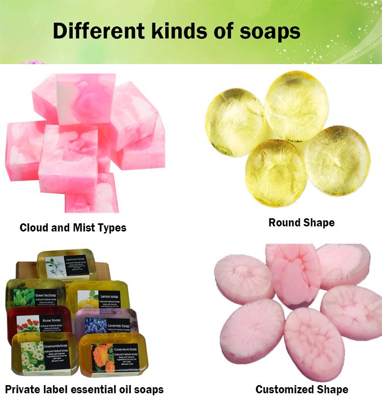 diffrent soap