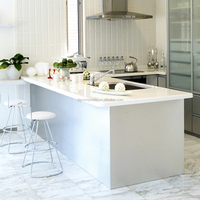 Factory wholesale solid surface cheap price precut kitchen countertop