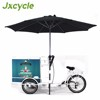 Mobile street ice cream tricycle bike regenerated