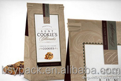 coffee beans/coffee stand up kraft paper packing bags ,stand up pouch, kraft paper coffee bags