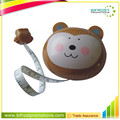 Animal Shaped Funny Embossed Retractable Fiberglass Measuring Tape
