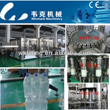 washer,filler and capper 3-in-1 pure or mineral water production line