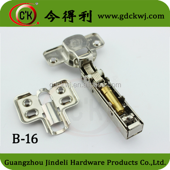 Chinese Supplier Cabinet Clip On Buffer Hydraulic Soft Close Hinge