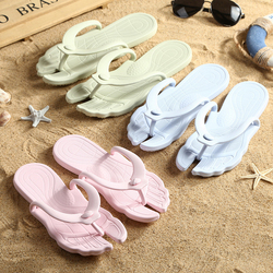 Cheap wholesale hotel disposable spa slippers open toe indoor compression flip flops