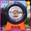 giant inflatable tyre/eye-catching,promotion decoration
