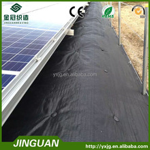 plastic ground cover/weed barrier in rolls, biodegradable weed mat for solar energy
