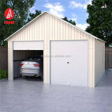 high quality ready made prefab metal steel tube garage container carports