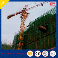 new product QTZ50-5010 travelling tower crane/side boom crane