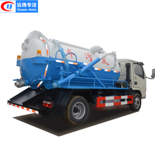 sewer vacuum sucker sewage truck for sale with cheap price