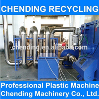 CHENDING Wate Plastic Recycling Machine PPPE Film PET Bottle Washing Recycling Line with great price