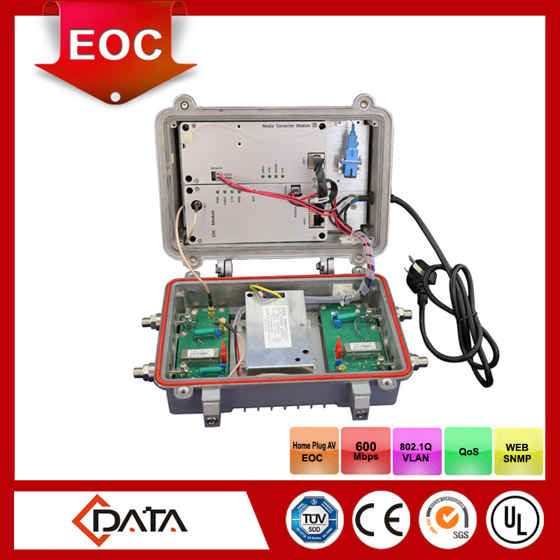 CATV equipment: integrated MC+EOC module outdoor master