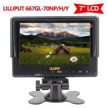 "Lilliput 7"" 667GL-70NP/H/Y On Camera field Monitor For Canon Nikon DV Camcorder"
