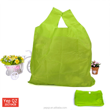 Promotional new fashion solid color cheap foldable tote bag with snap closure