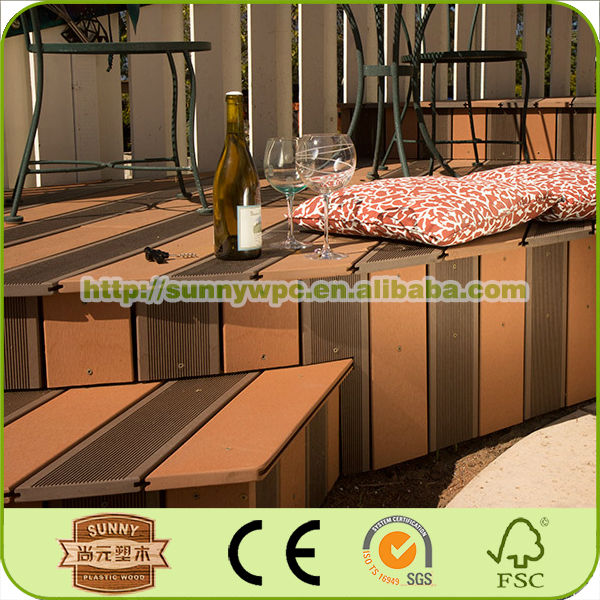 wpc decking cheap garden gazebo composite decking china