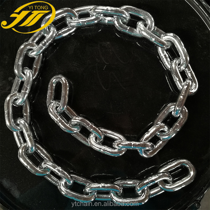 Welded Ordinary Mild Metallic NACM1996/2003/2010 G70 Transport Link <strong>Chain</strong>