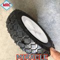 Qingao supplier solid wheel, pu tyre for wheelbarrow tyre 6x1.5