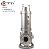 Real Factory Stainless Steel Sump Pump Waste Water Disposal Pump