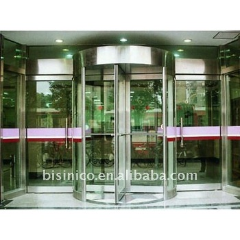 Bronze Manual Rotated Door
