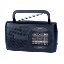 With Large Dial Panel, Carry Handle, AM/FM SW1-2 4 Bands world radio Receiver vintage multi band Kitchen nostalgia Radio