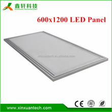 Ceiling Recessed Day Light Dimmable 72W led panel 600*1200