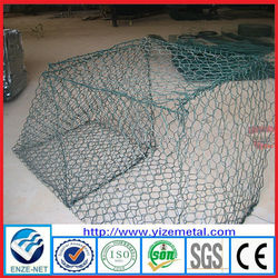 welded mesh galvanized wire mesh gabion/welded gabion mesh/round welded gabion box (real factory)