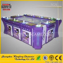 Fishing video table consoles games, 2016 Tiger Shark 8 players fishing game/coin operated gambling machine