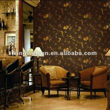 High quality metallic wallpaper for house deco